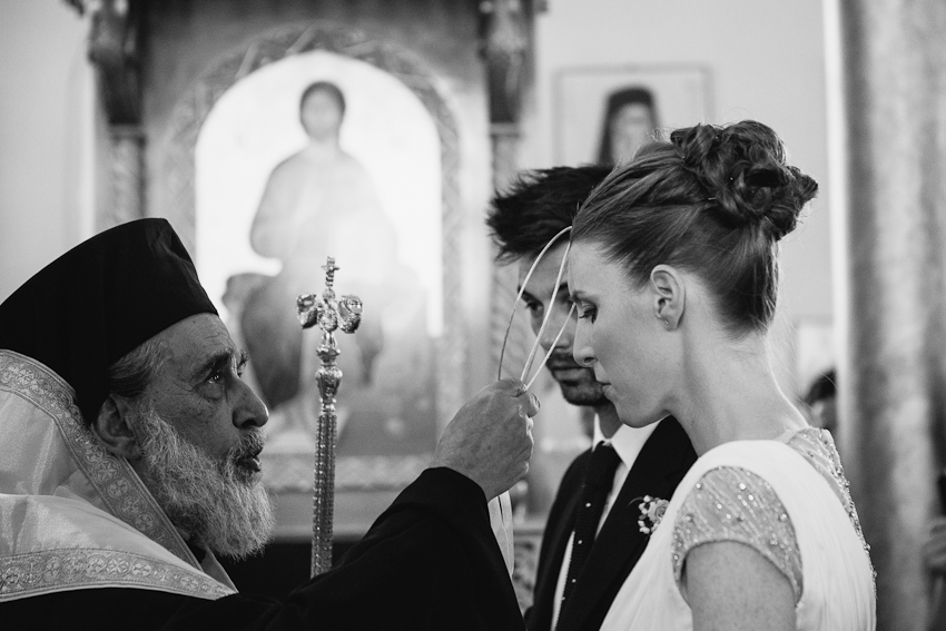 Greek Orthodox wedding ceremony