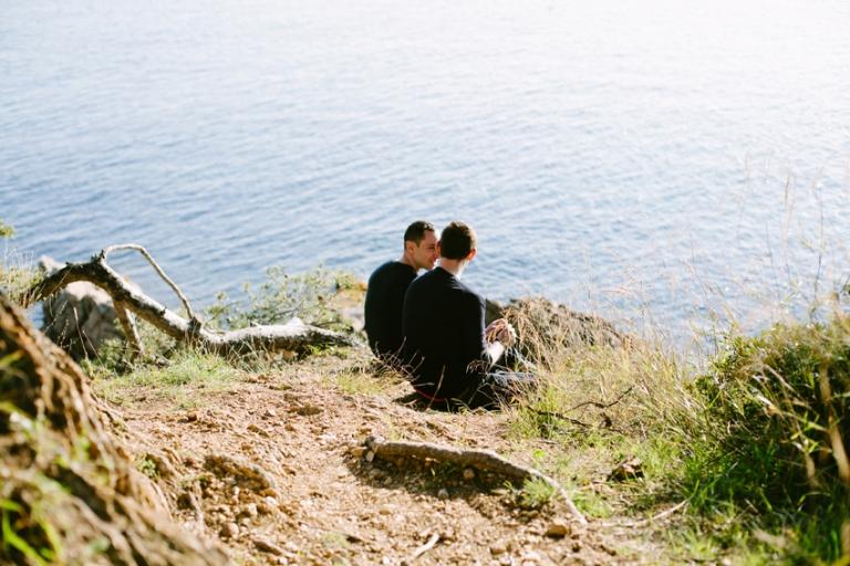 French Riviera Couple Photo Shoot