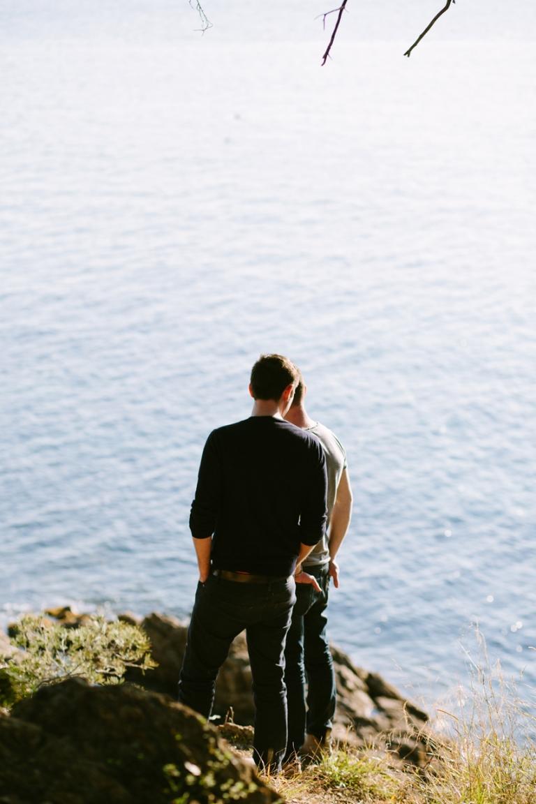 gay male couple photoshoot