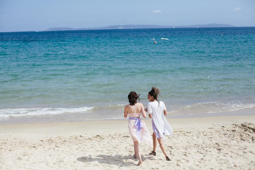 mariage en bord de mer Côte d