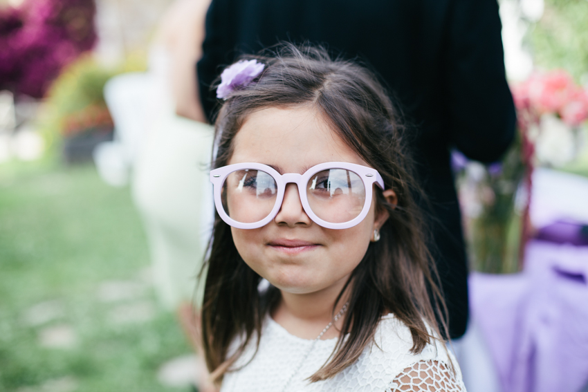 fun wedding props glasses