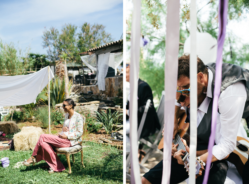 bohemian wedding French Riviera