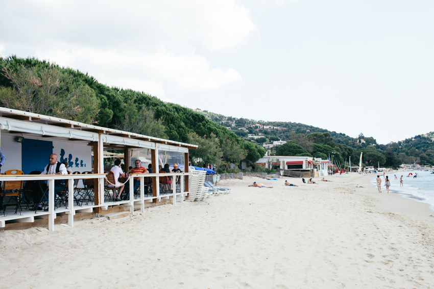 beach café wedding venue French Riviera