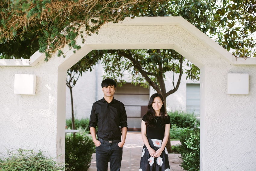 Chinese couple pre wedding shooting France