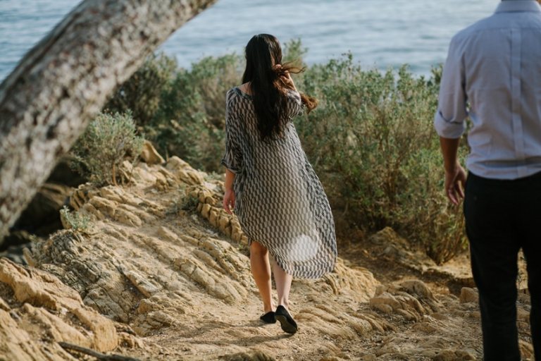 pre wedding reportage in South of France