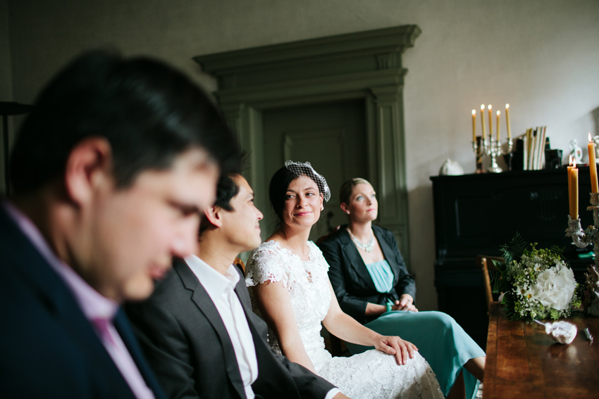 contemporary Bavarian wedding