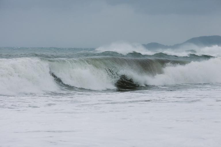 winter storm big wave France
