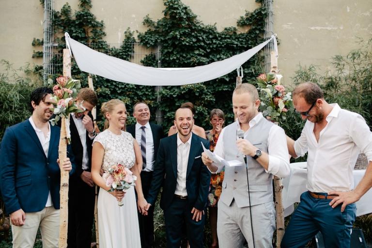 Hochzeitsreportage Berlin freie Trauung