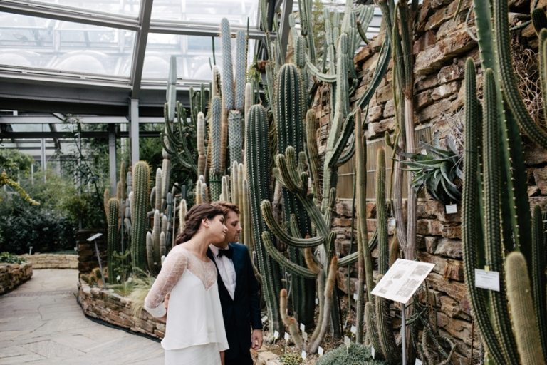 american wedding botanical garden berlin