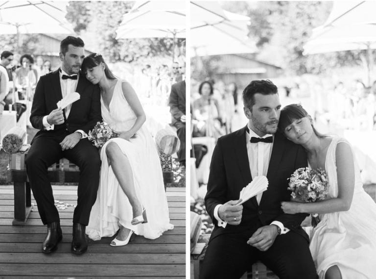 Hochzeitsfotos analog schwarz weiß