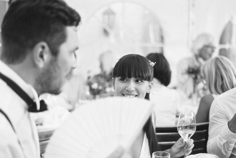 analoge Hochzeitsfotos