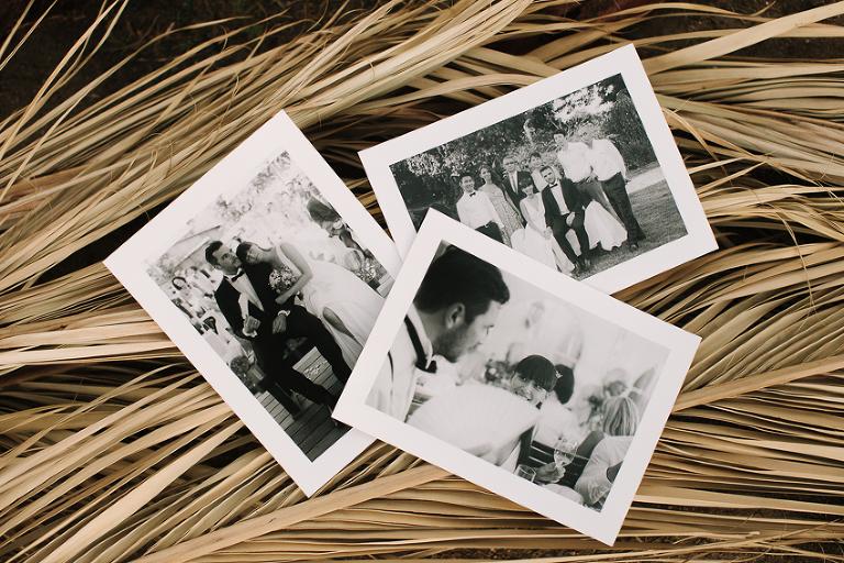 analoge Hochzeitsfotos schwar weiss abzug