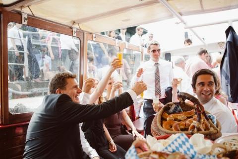 Hochzeit Hafen Barkasse