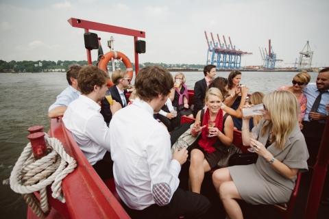 Hochzeit Hamburger Hafen