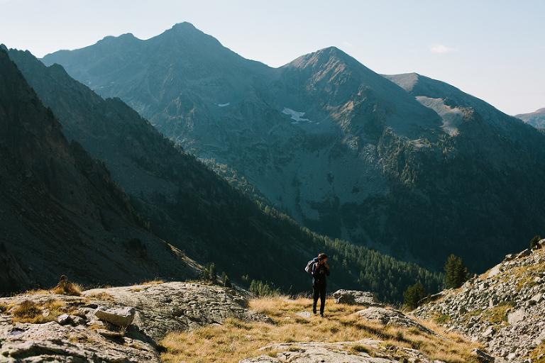 Wanderung Alpen Frankreich