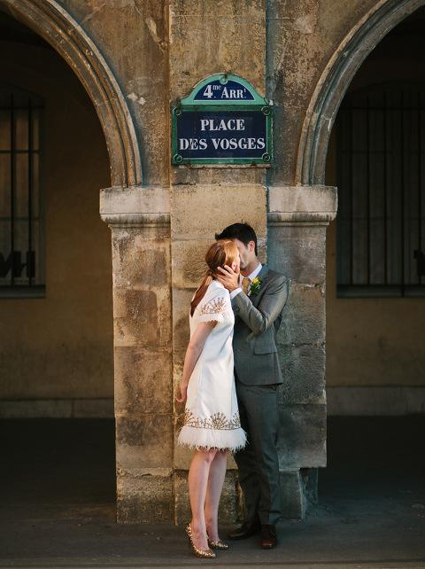 Place de Vosges Hochzeit